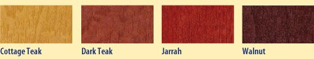 HomeCare Wood Stain Colours