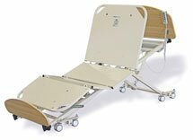 SafeCare® Floor Bed with ACUTE upgrades for hospitals