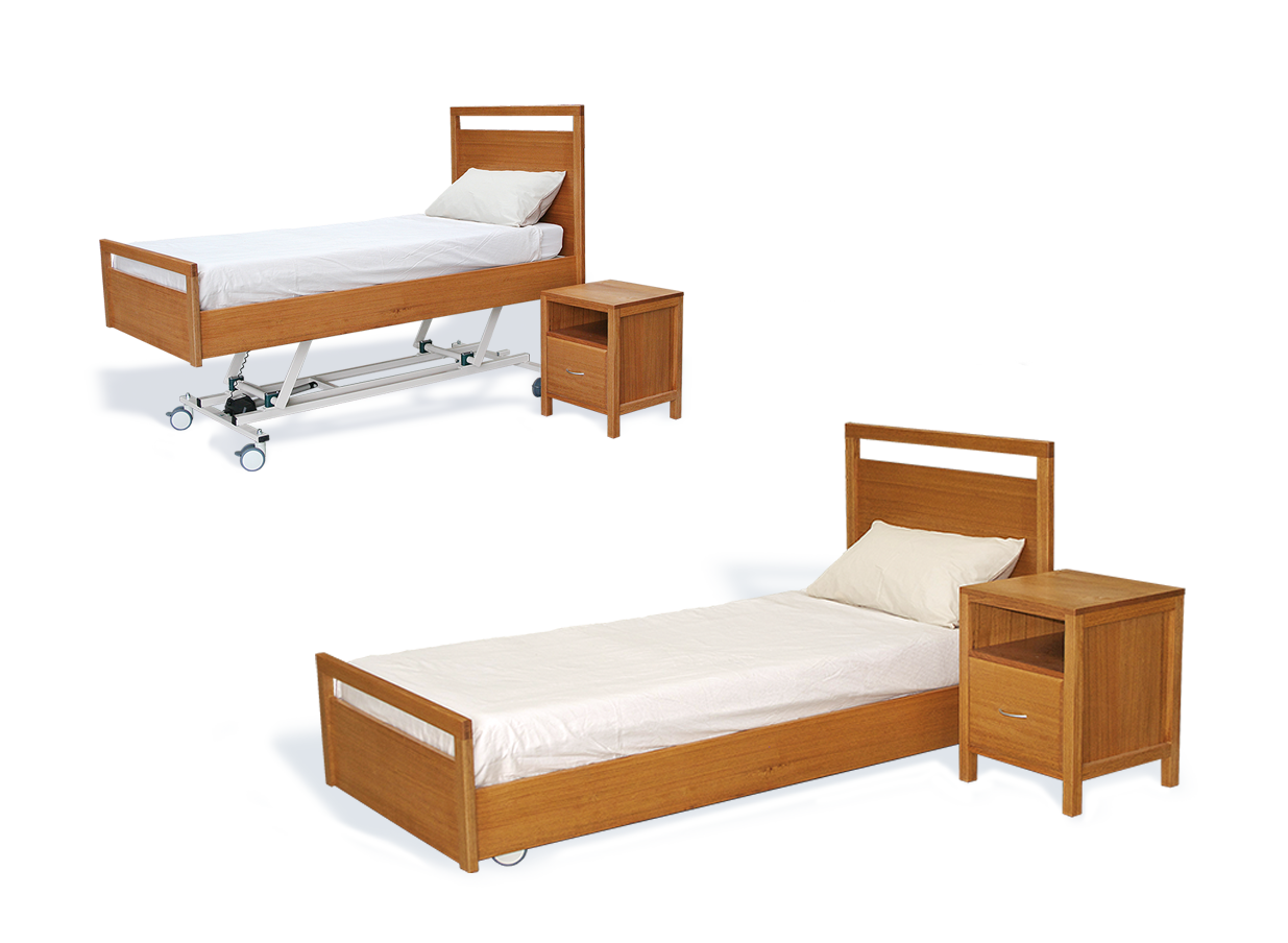 HomeCare High/ Low Floor Bed